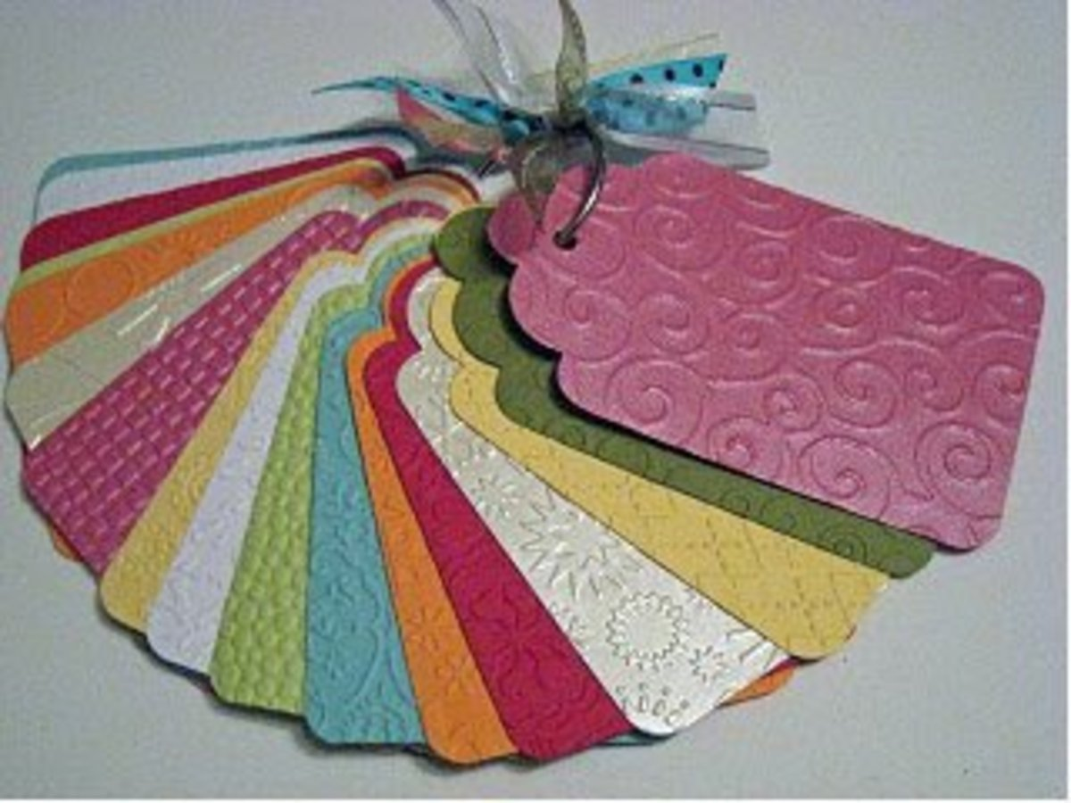 It is easy to create a Cuttlebug embossing folder inventory