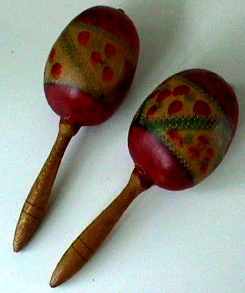 the maracas of South & Central American origin