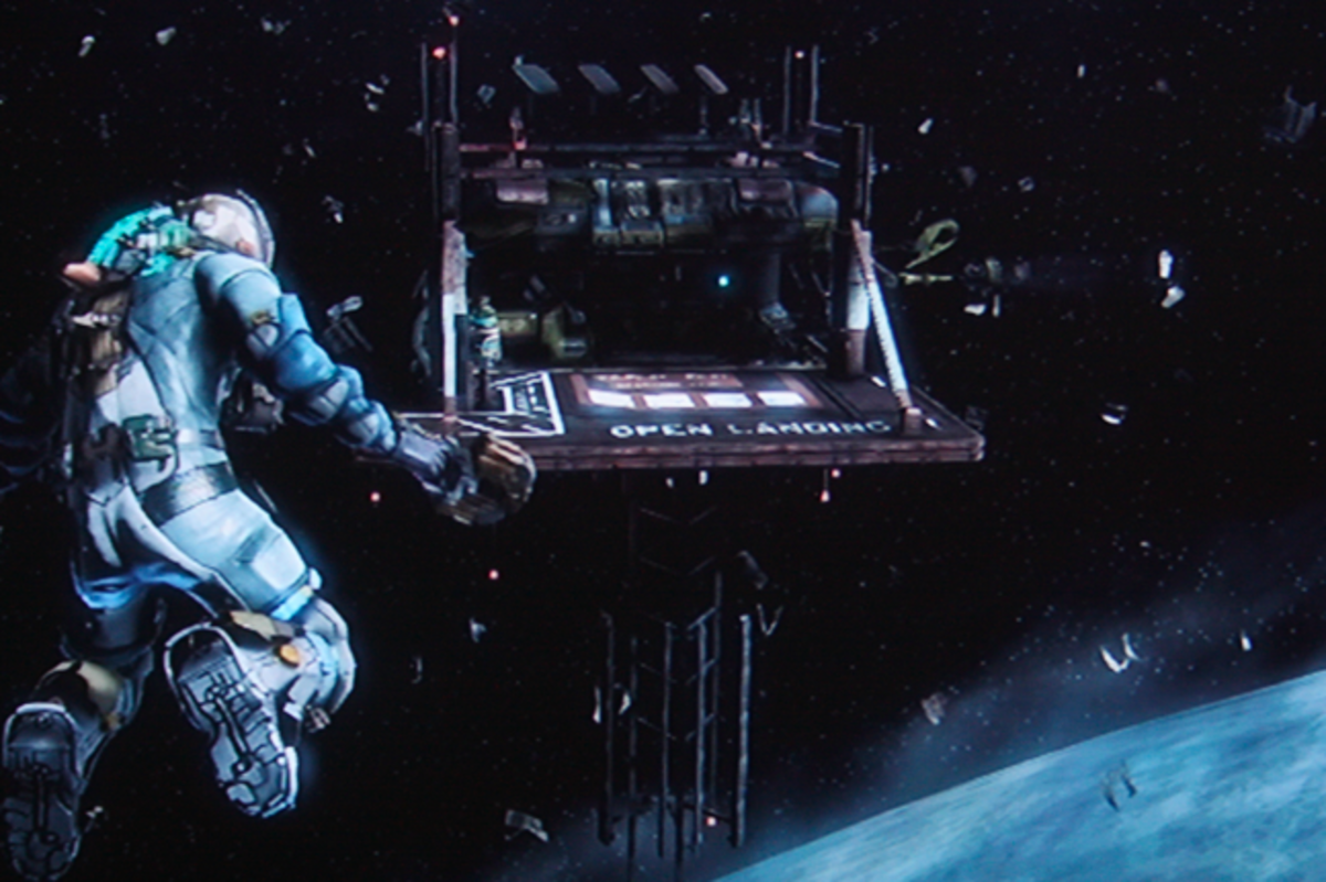 Dead Space 3 walkthrough, Part Six: Explore the Greely