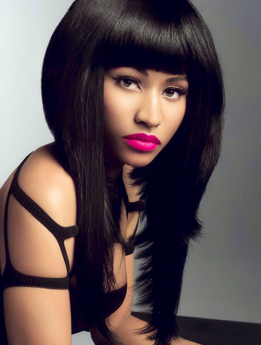 Nicki Minaj. Light skinned black women celebrities.