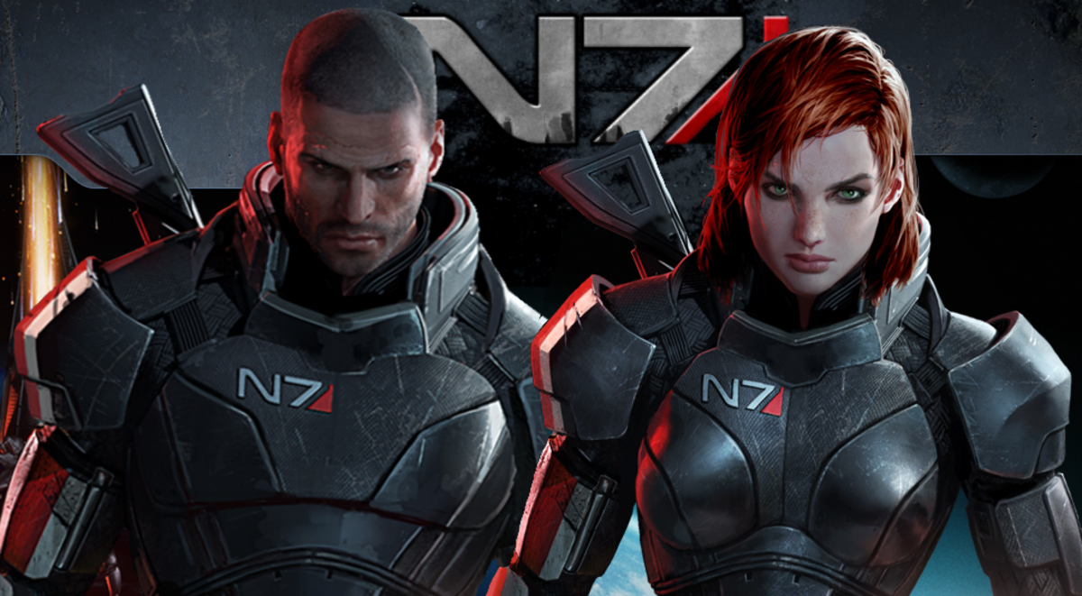 Mass Effect:  The Commander Shepard Workout At Rich Man's Gym