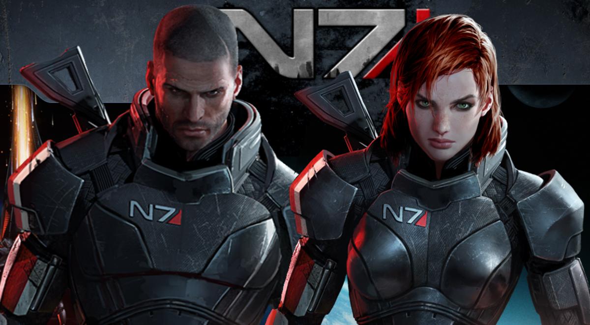 Mass Effect:  The Commander Shepard Workout At Rich Man's Gym
