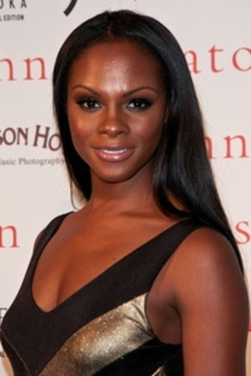 Beautiful Tika Sumpter. Dark skin black women celebrities.
