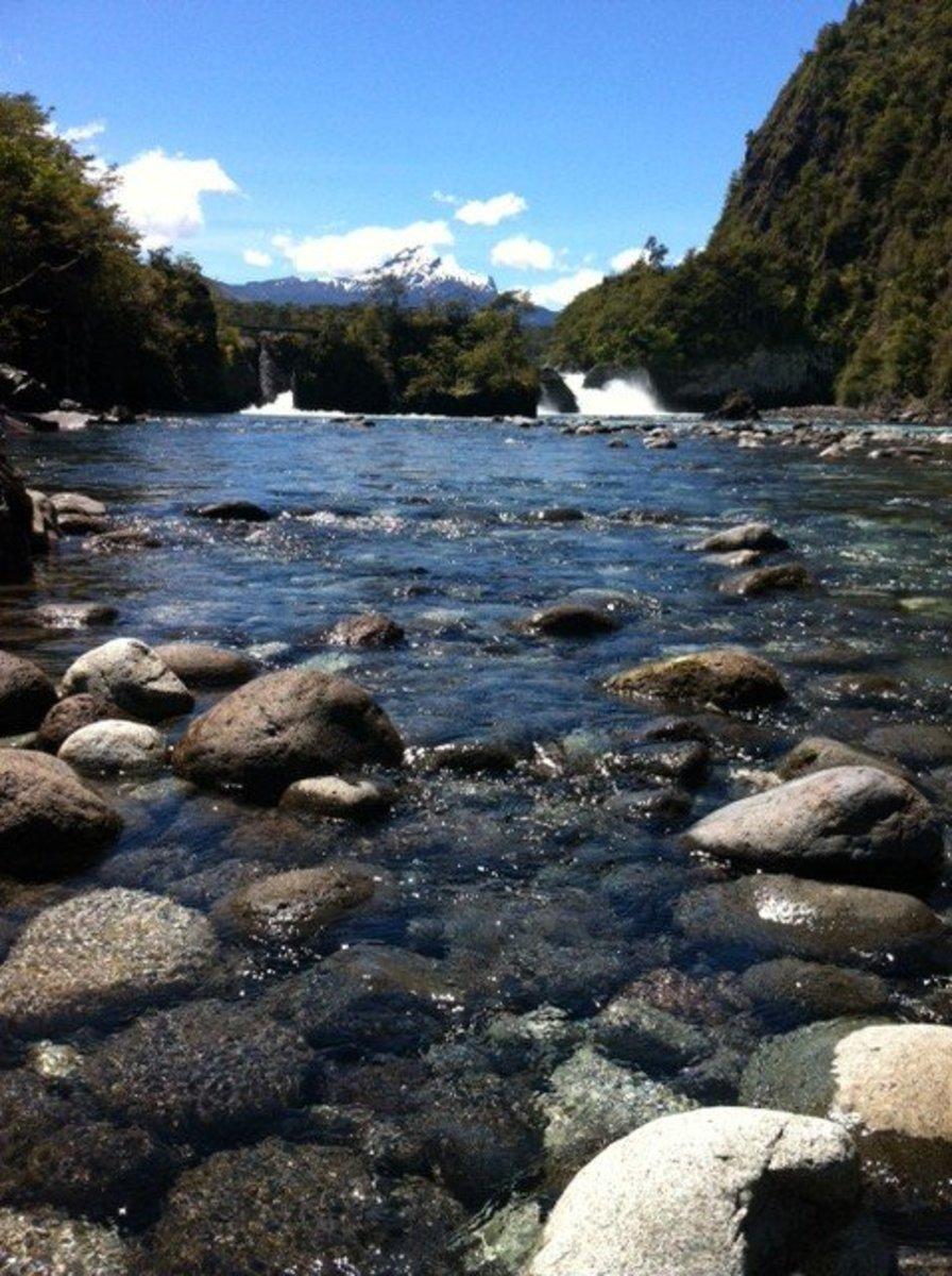 Saltos del Petrohue, South of Chile