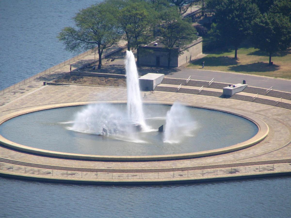 Point State Park Fountain