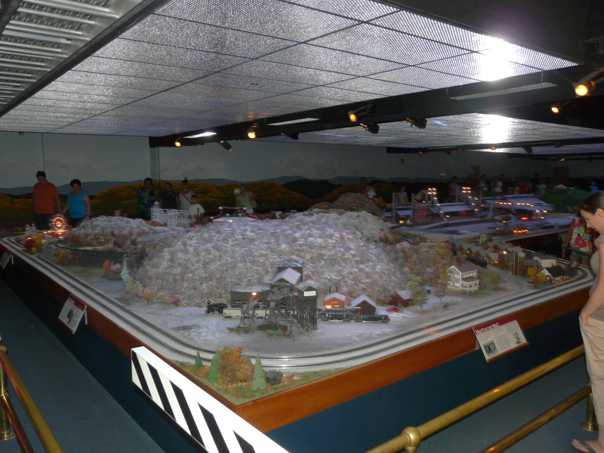 Miniature Railroad Village  - July 23 2011
