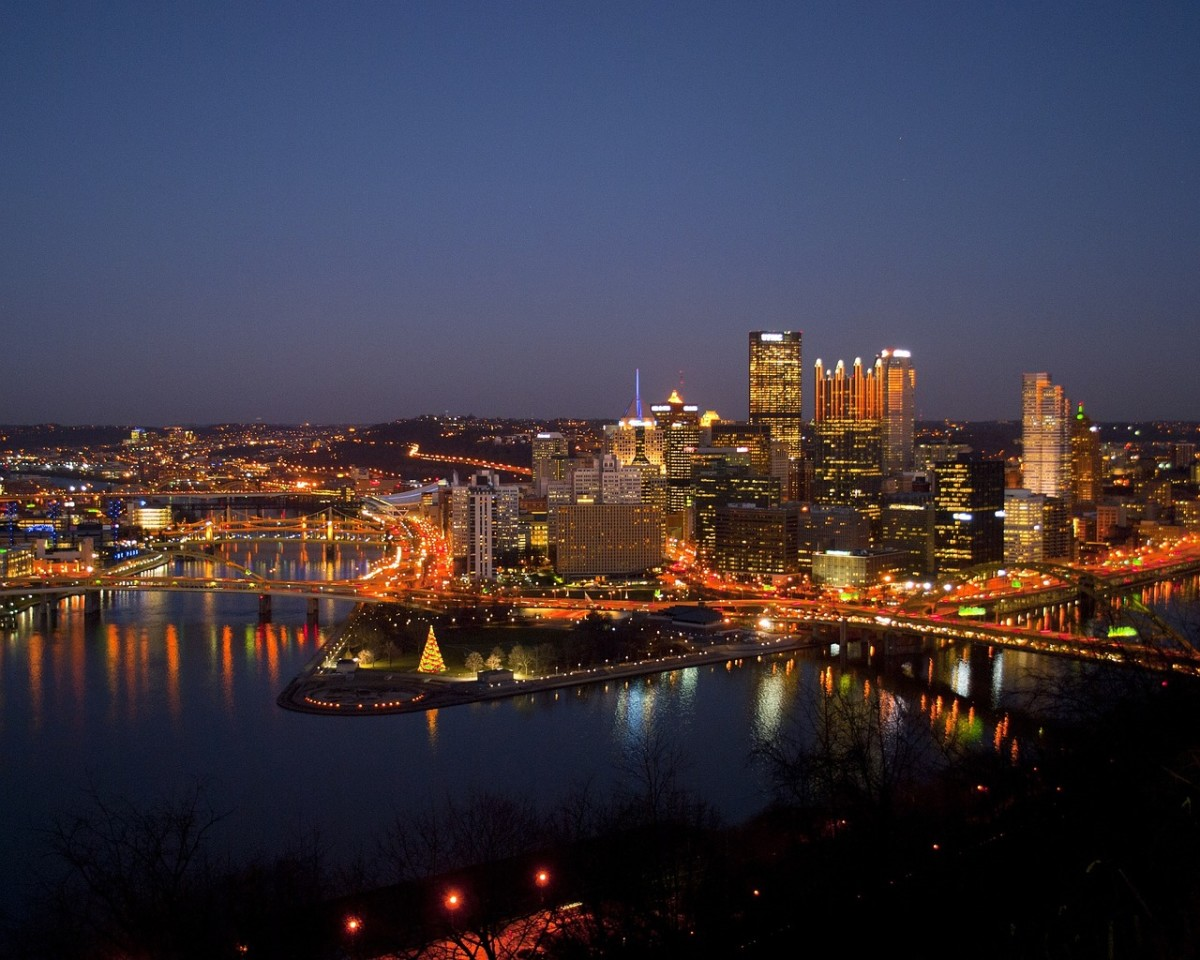 Three Best Tourist Sites: Pittsburgh Pennsylvania 2017