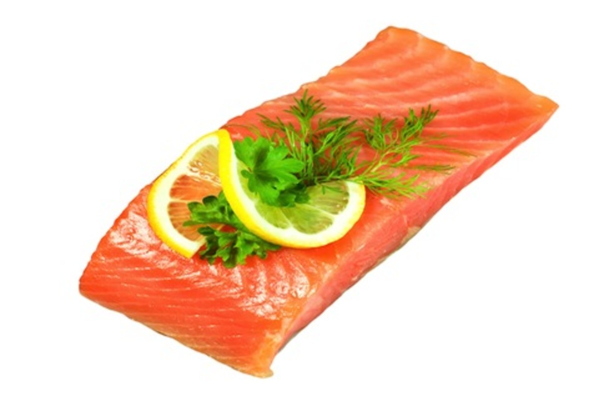 Cold Water Fish - rich in Omega 3