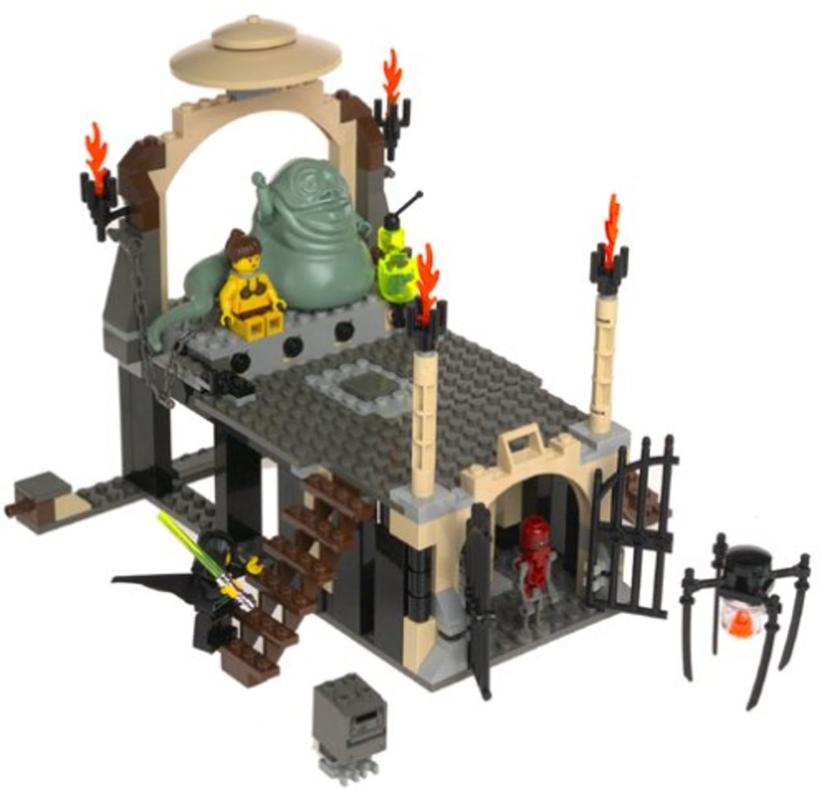 LEGO Star Wars Jabba's Palace 4480 Assembled