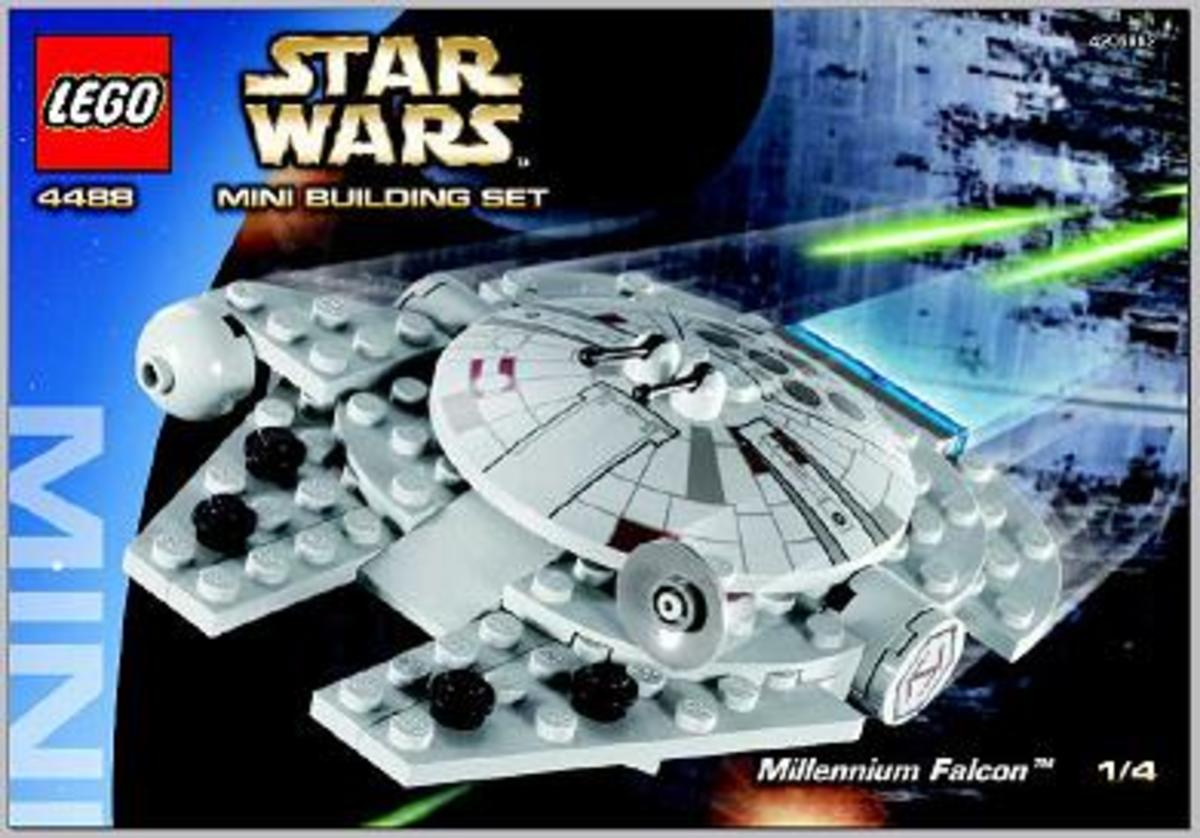 LEGO Star Wars Millennium Falcon 4488 Box