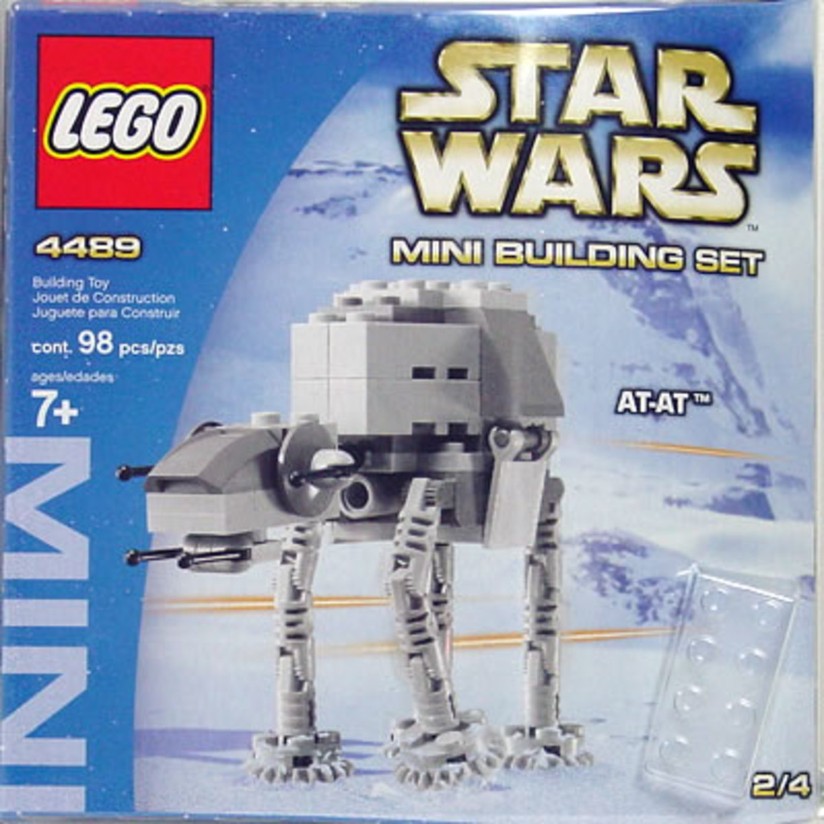LEGO Star Wars Mini AT-AT 4489 Box