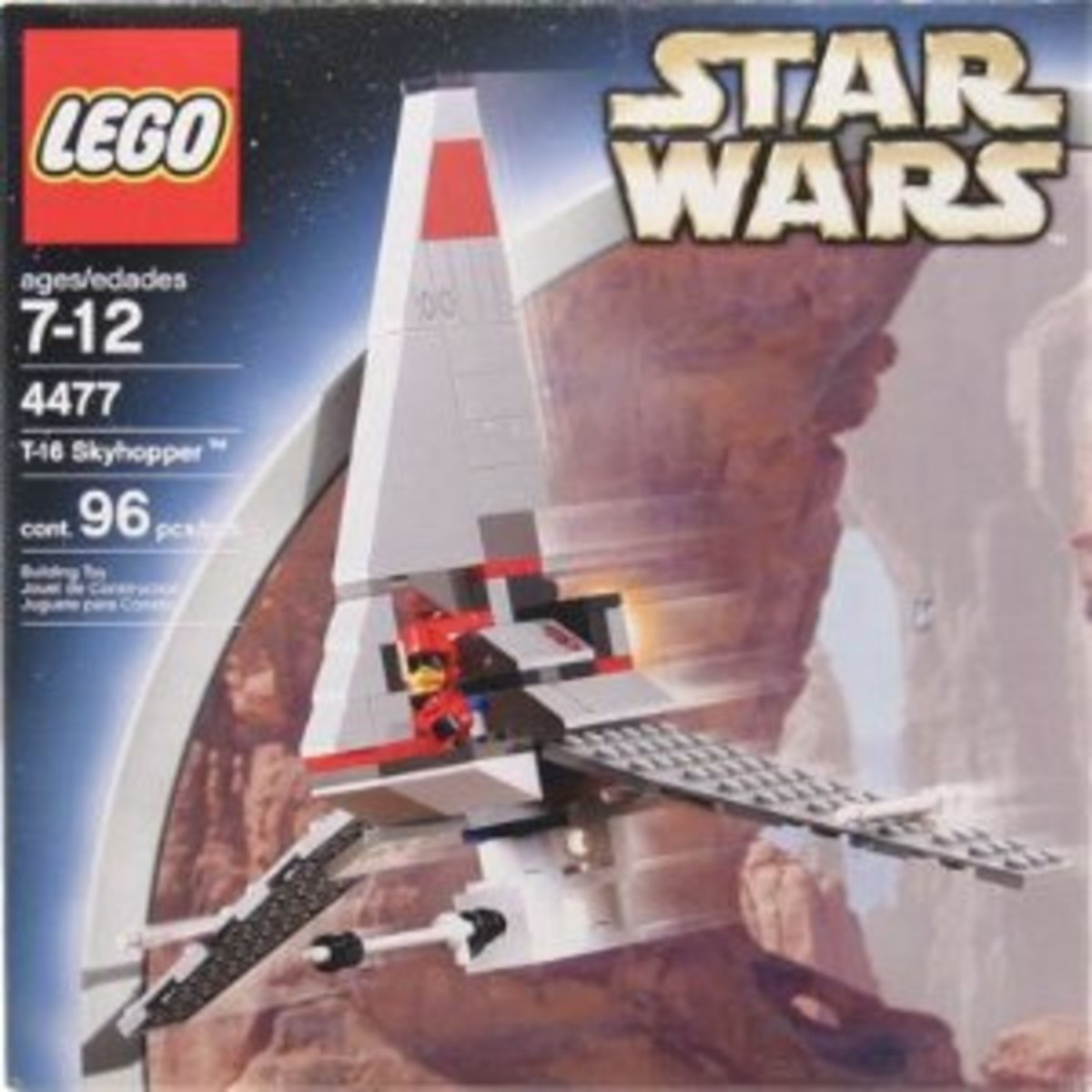LEGO Star Wars T-16 Skyhopper 4477 Box