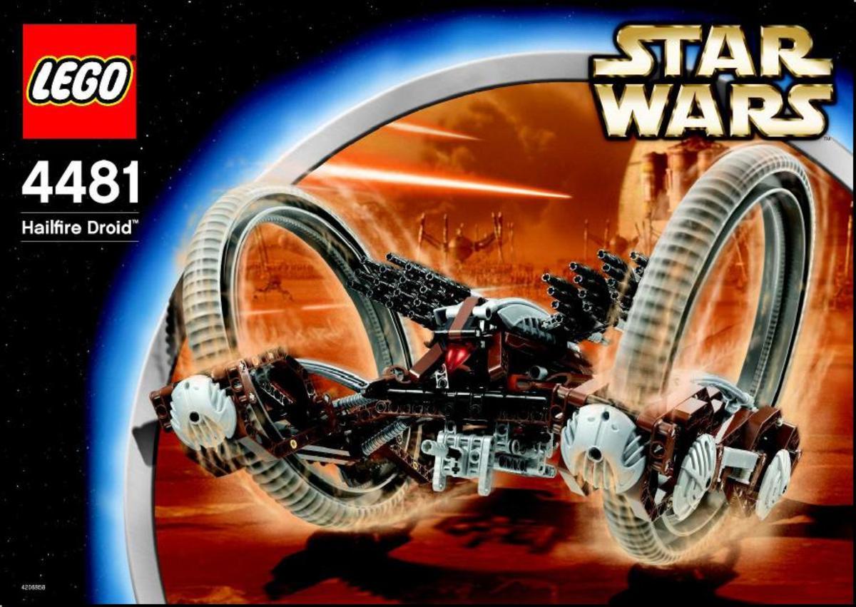 LEGO Star Wars Hailfire Droid 4481 Box