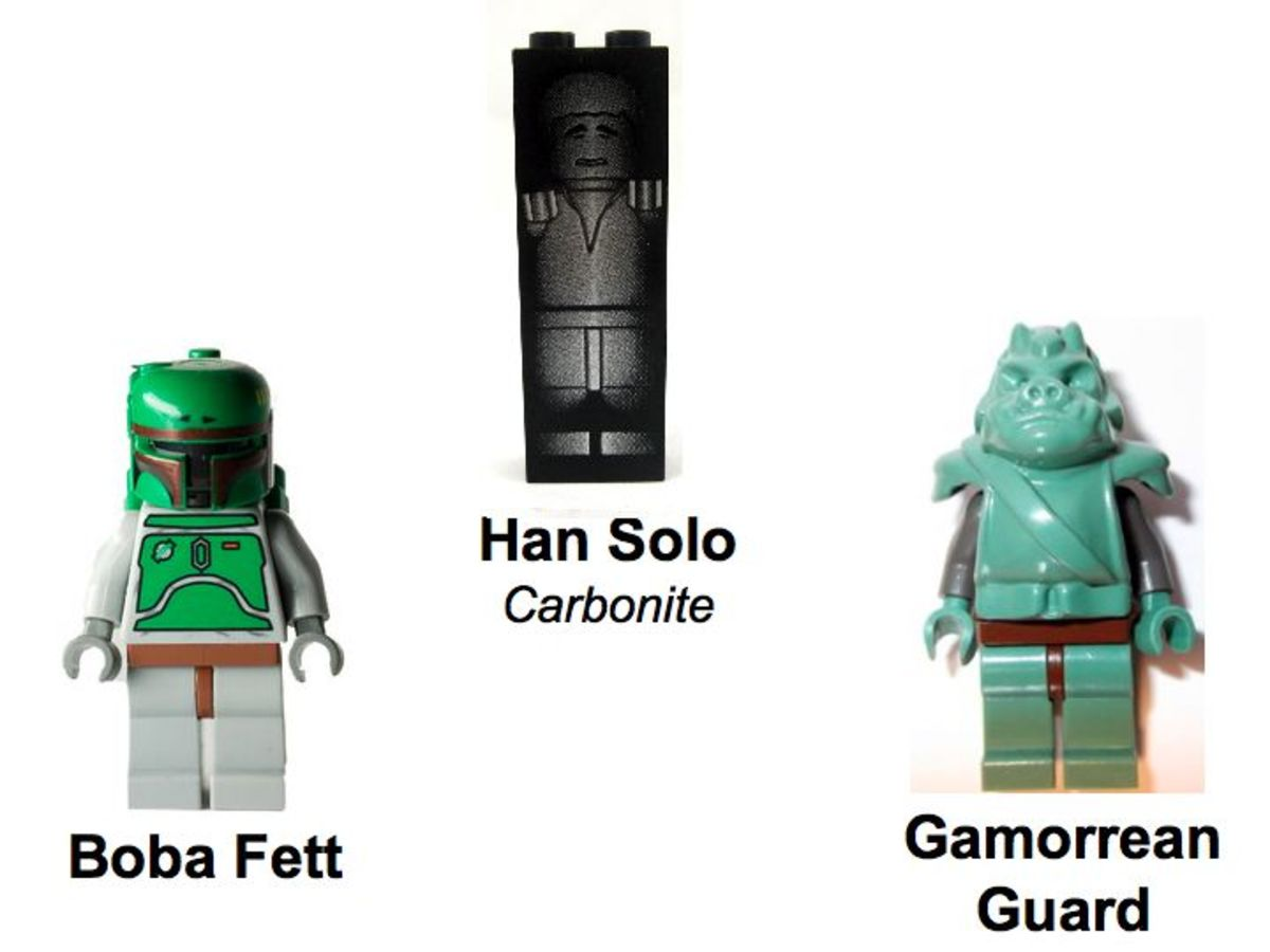 LEGO Star Wars Jabba's Prize 4476 Minifigures