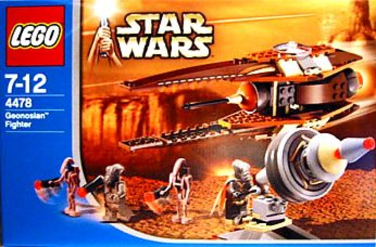 LEGO Star Wars Geonosian Fighter 4478 Box
