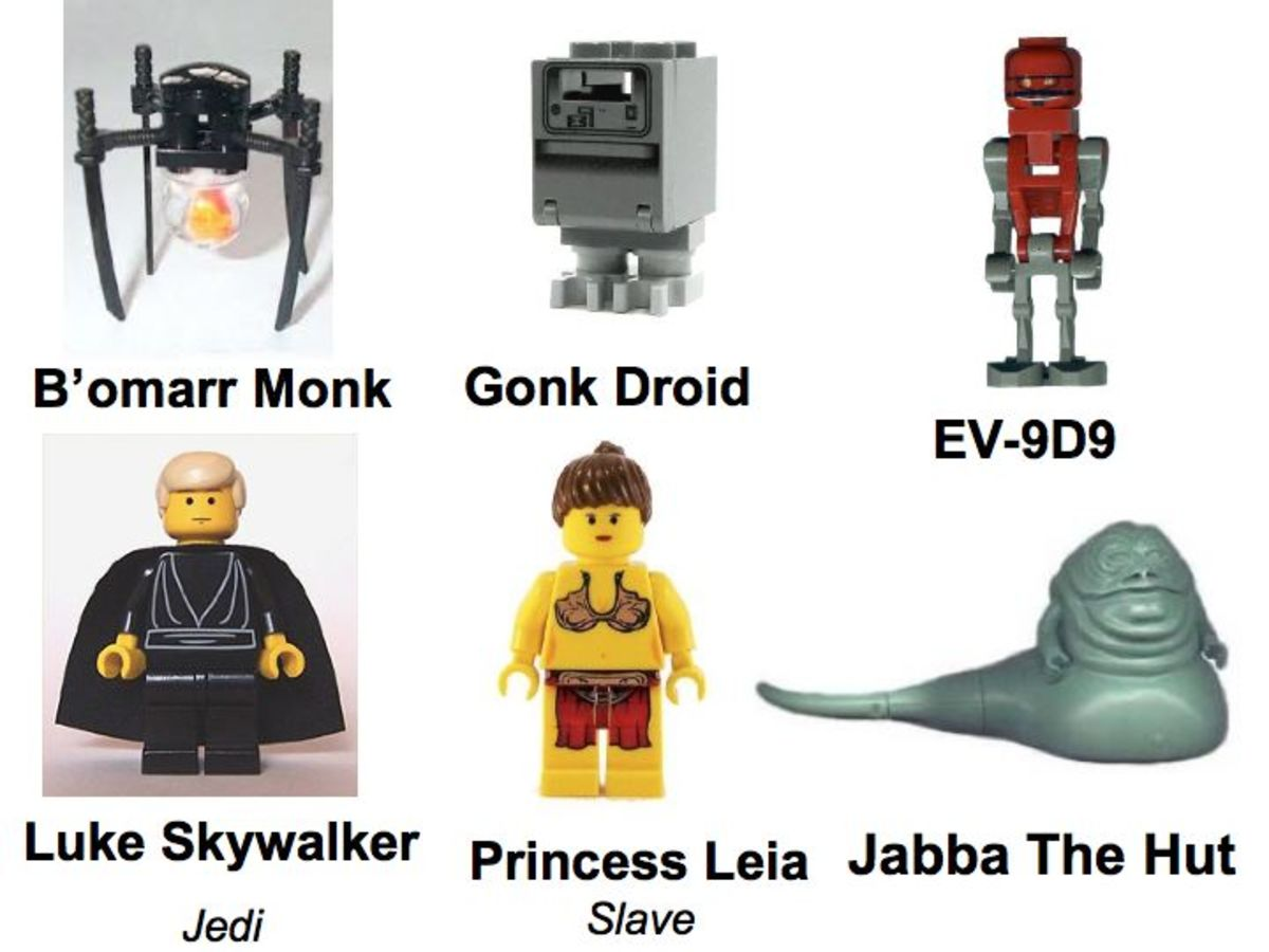 LEGO Star Wars Jabba's Palace 4480 Minifigures