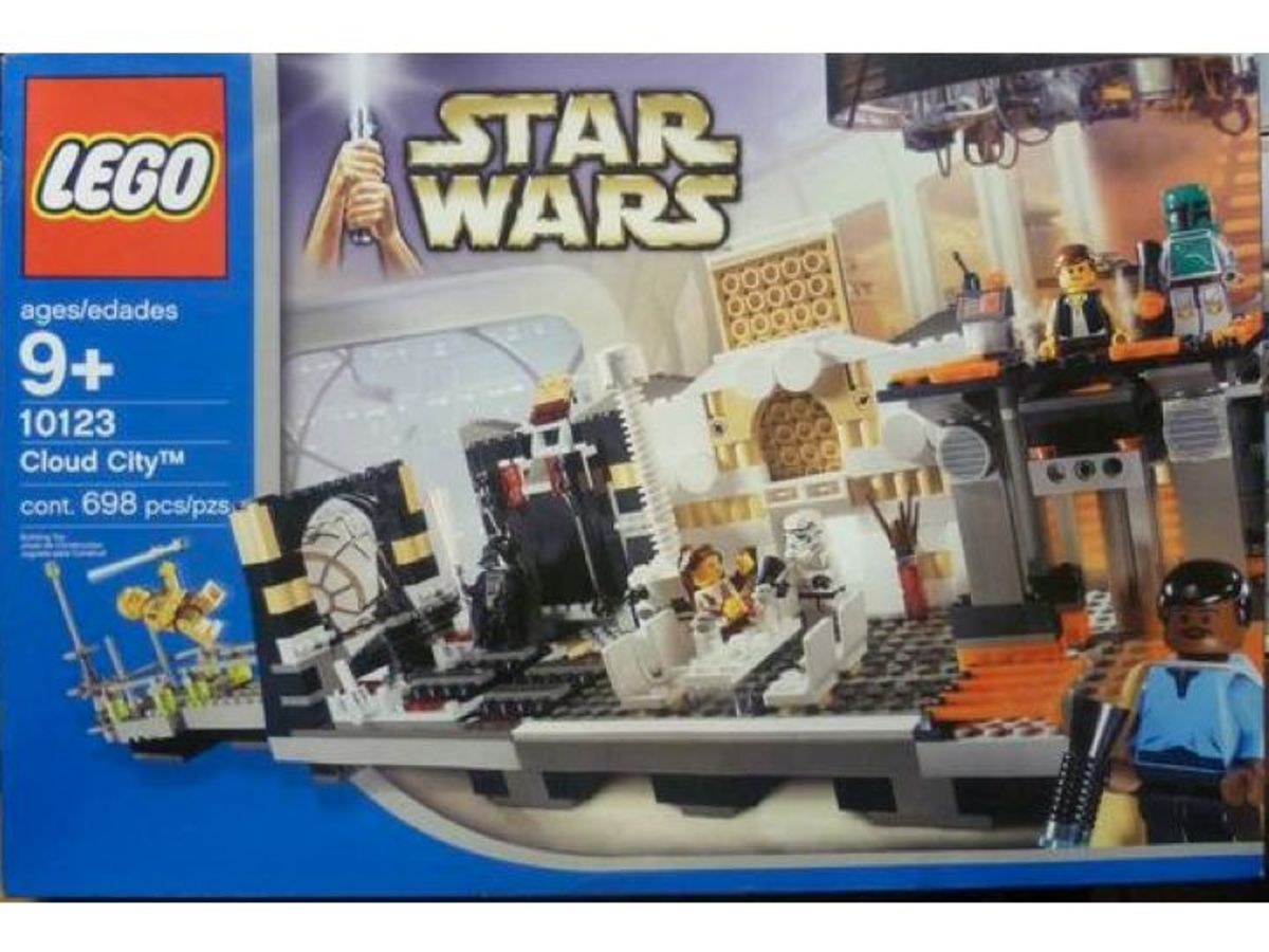 LEGO Star Wars Cloud City 10123 Box