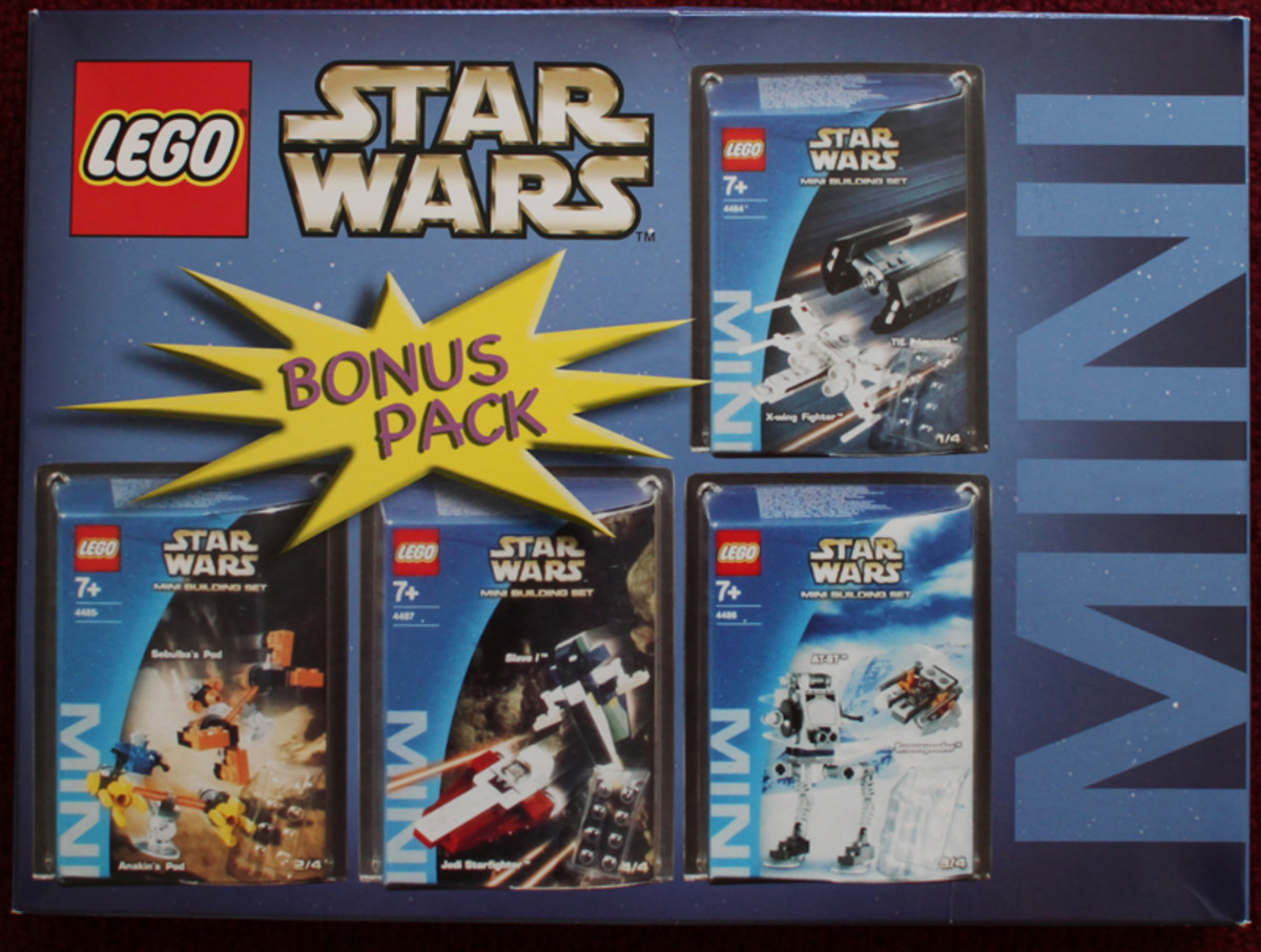 LEGO Star Wars Star War Mini Bonus Pack 4207901 Box