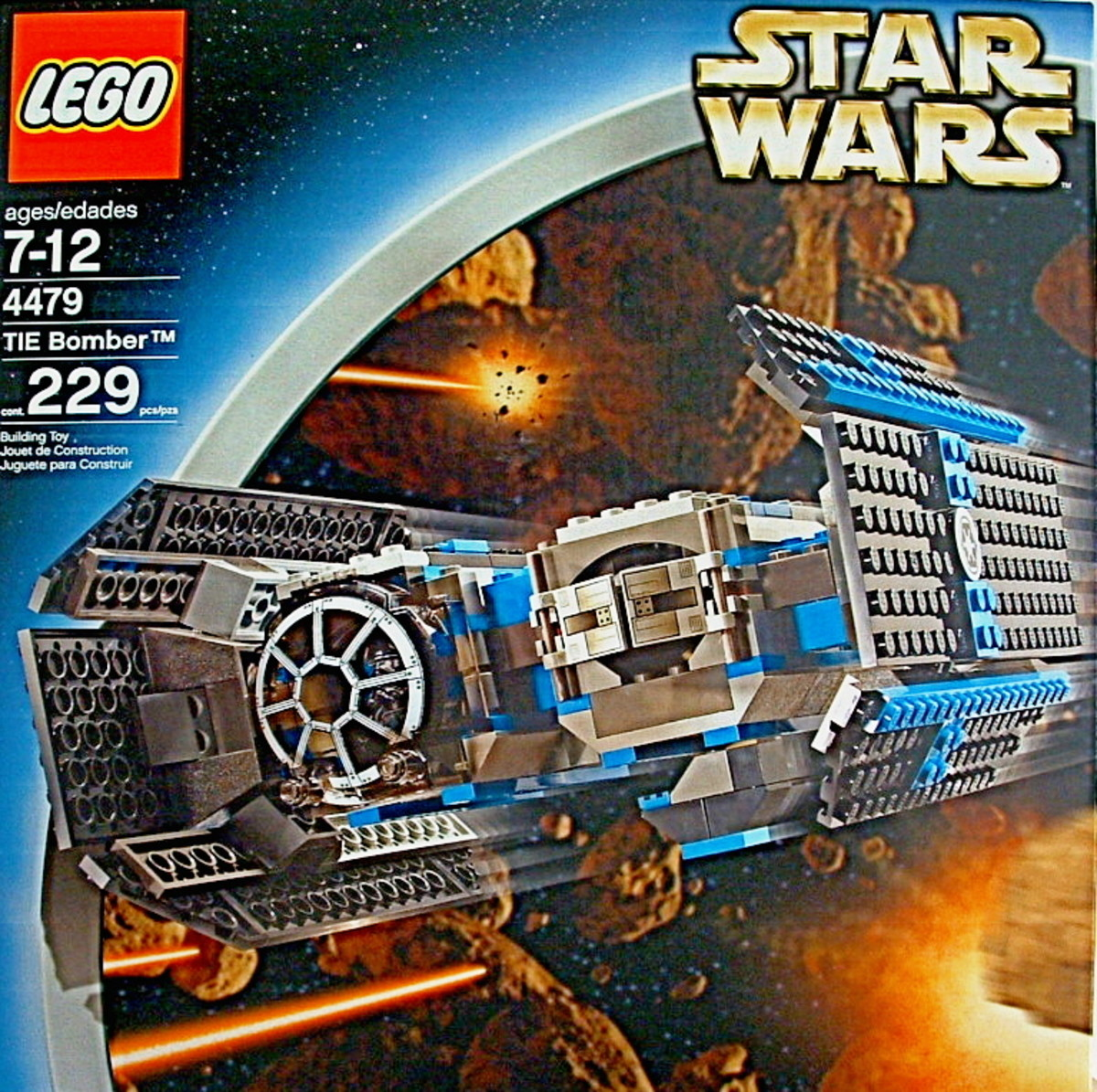 LEGO Star Wars TIE Bomber 4479 Box