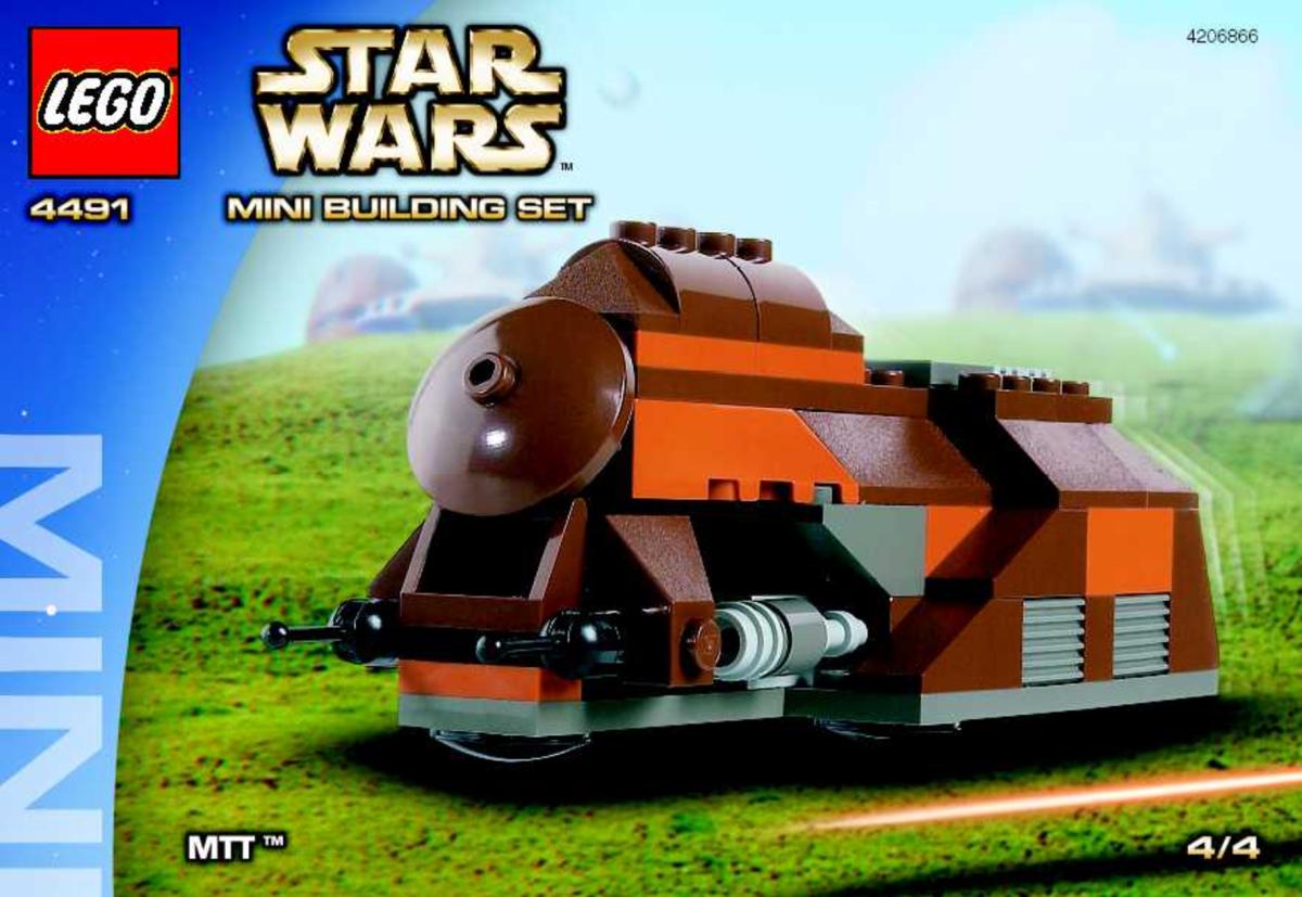 LEGO Star Wars MTT 4491 Box