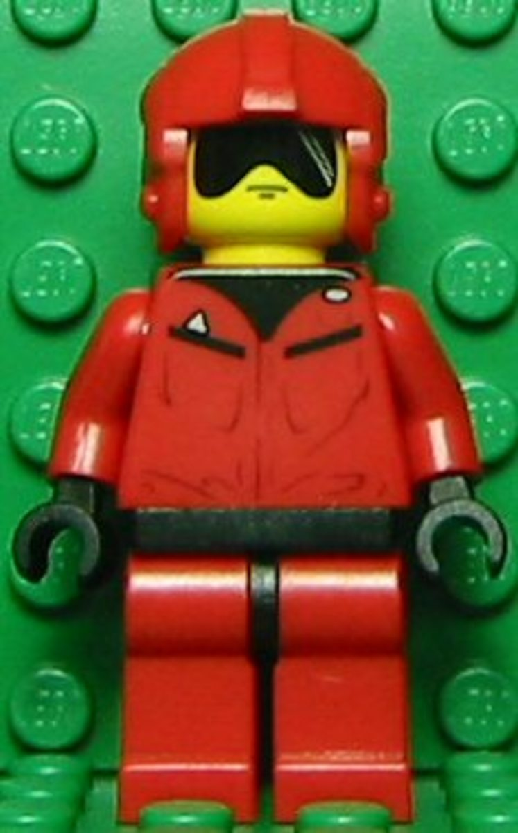 LEGO Star Wars T-16 Skyhopper Pilot 4477 Minifigure