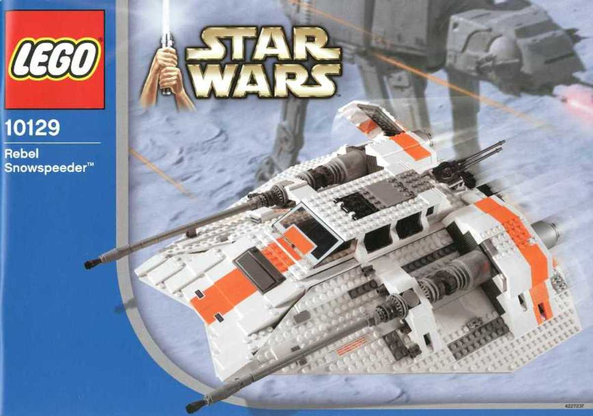 LEGO Rebel Snowspeeder 10129 Box