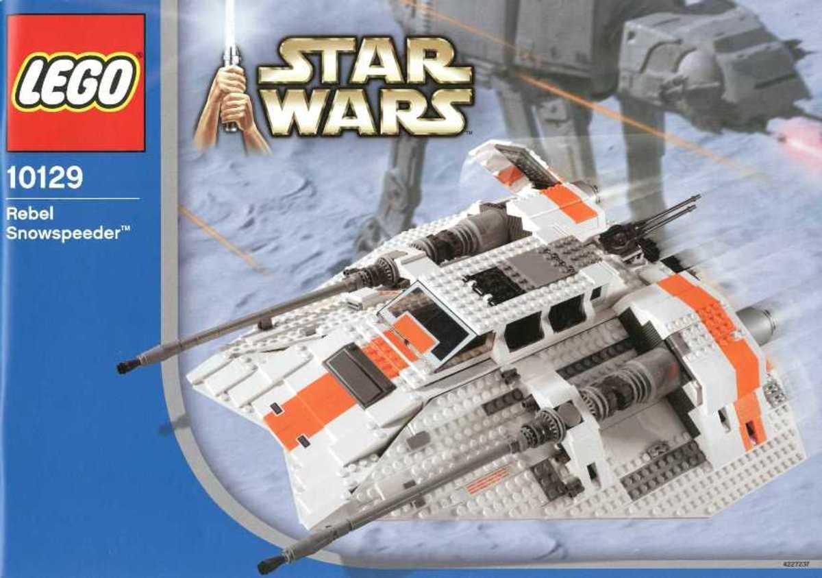 LEGO Rebel Snowspeeder 10129 Box