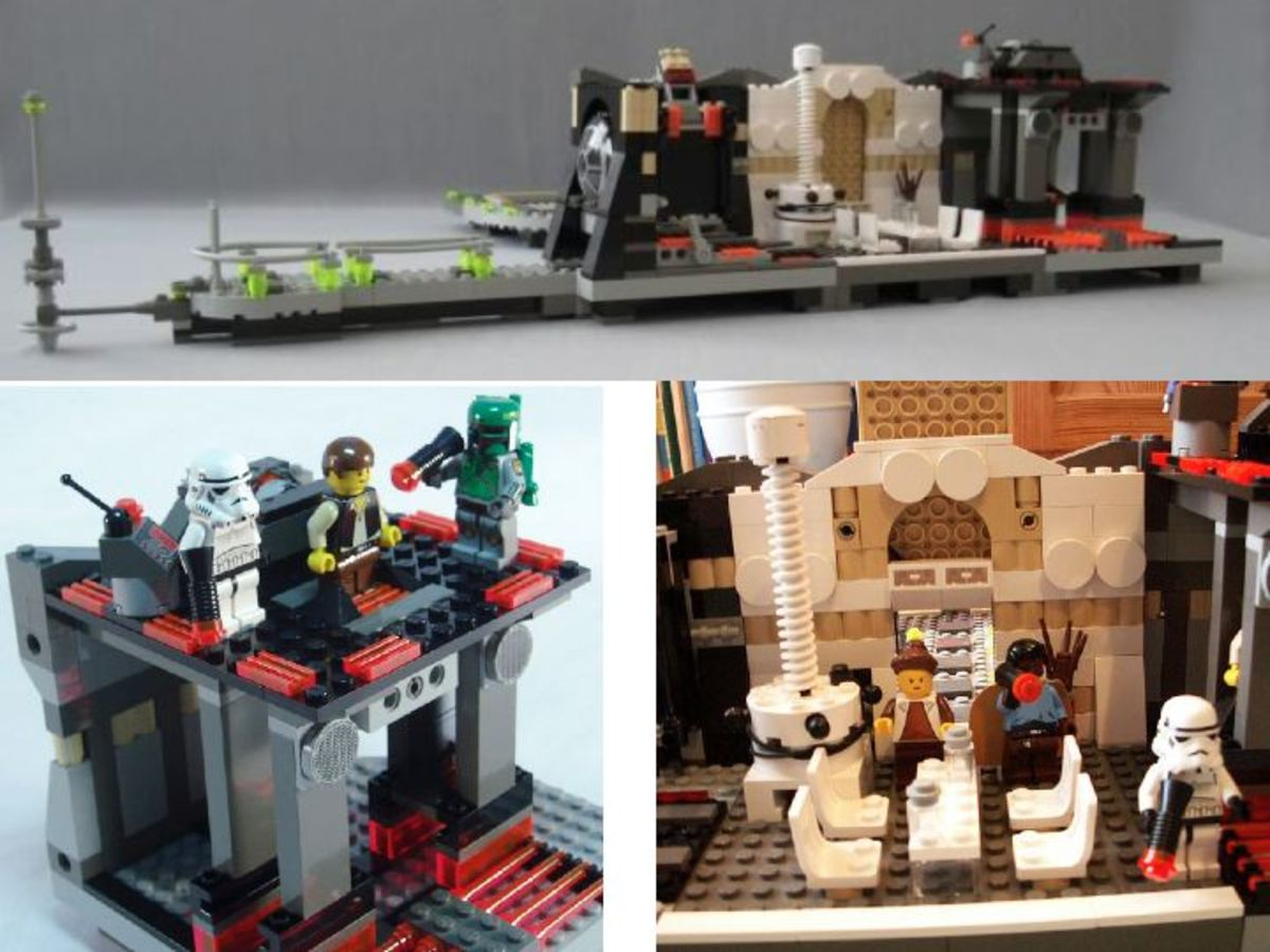 LEGO Star Wars Cloud City 10123 Assembled