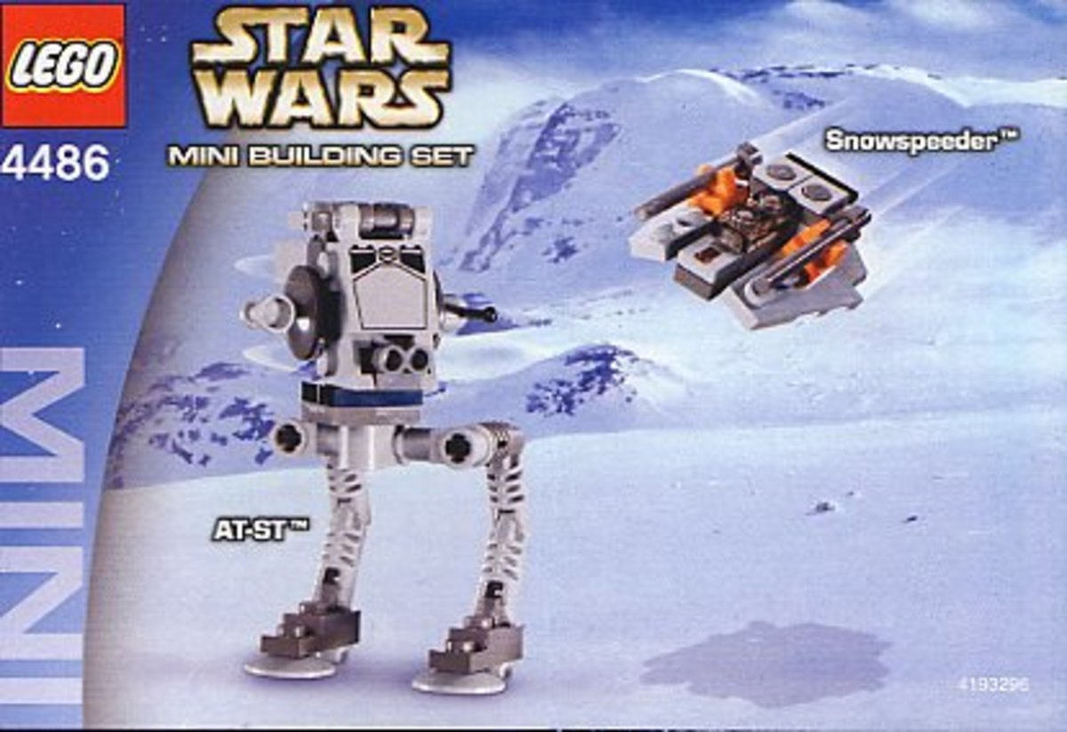 LEGO Star Wars AT-ST & Snowspeeder 4486 Box