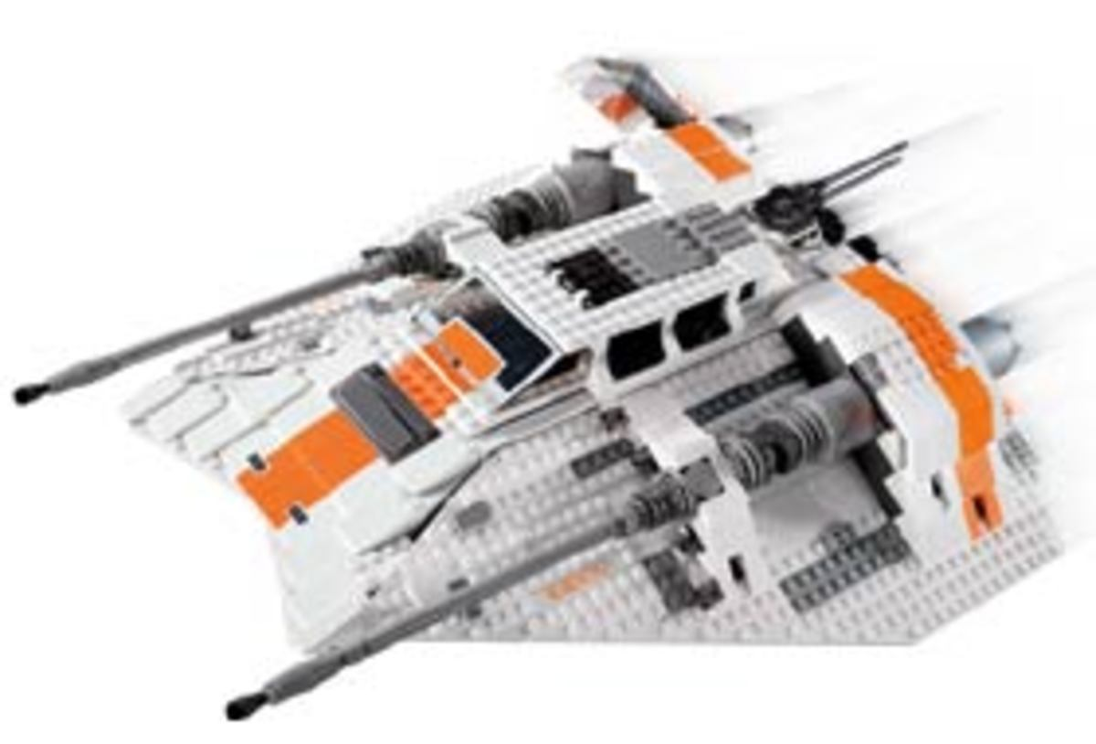 LEGO Rebel Snowspeeder 10129 Assembled