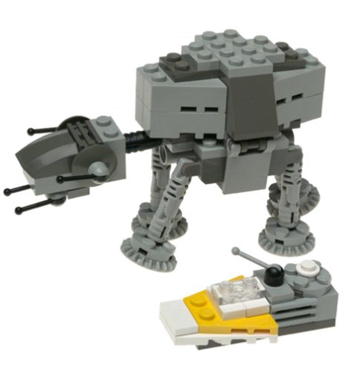 LEGO Star Wars Mini AT-AT 4489 Assembled