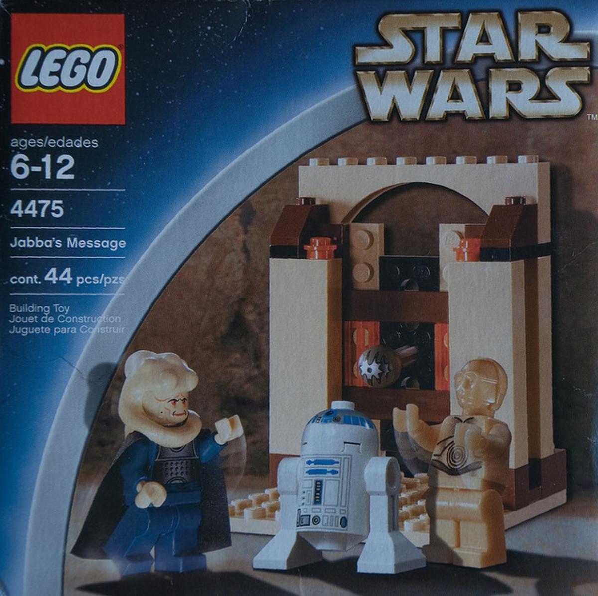 LEGO Star Wars Jabba's Message 4475 Box