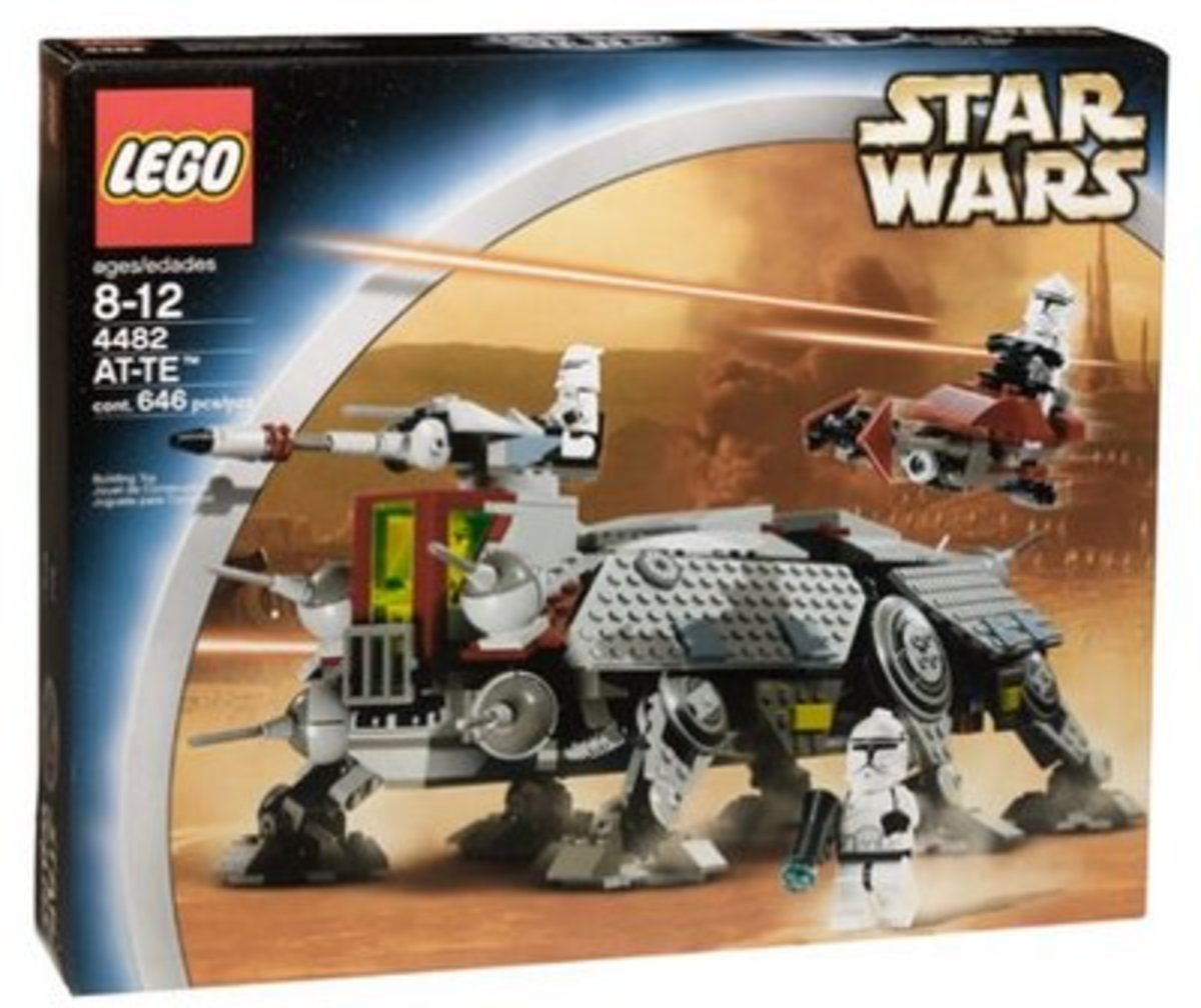 LEGO Star Wars AT-TE 4482 Box