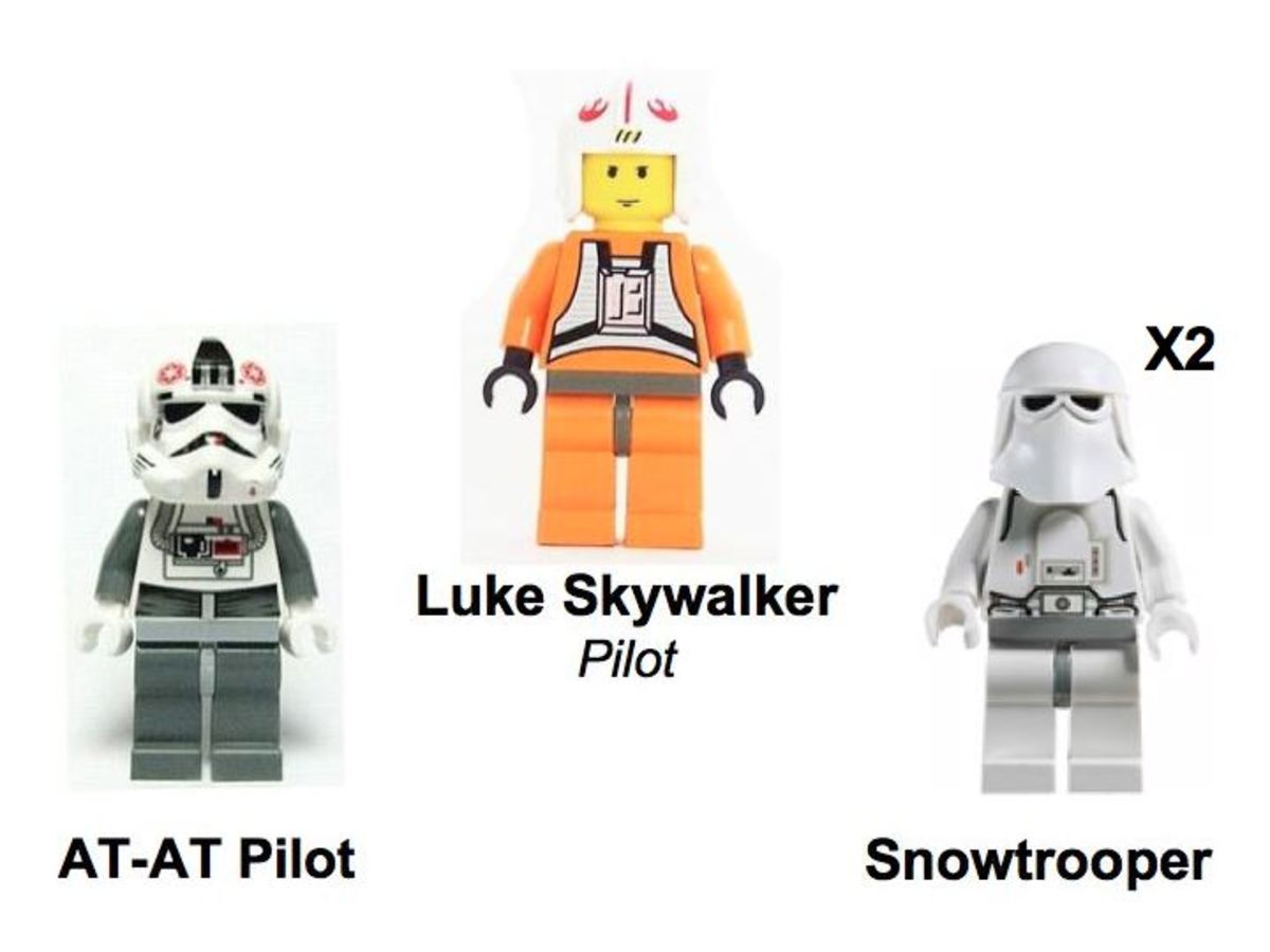LEGO Star Wars AT-AT 4483 Minifigures