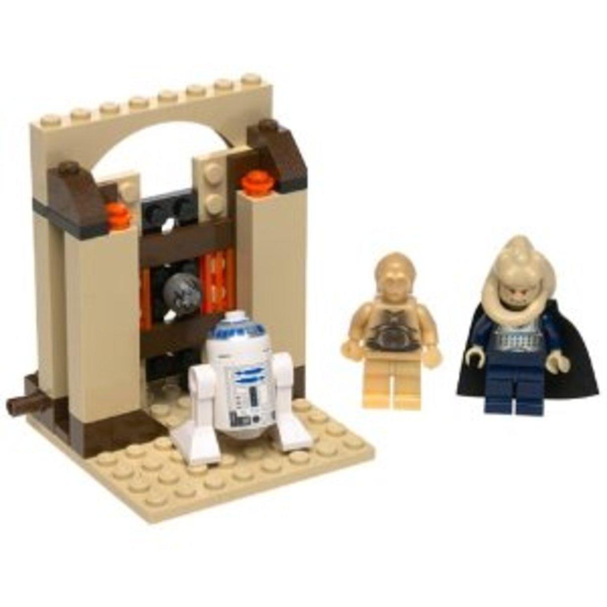 LEGO Star Wars Jabba's Message 4475 Assembled