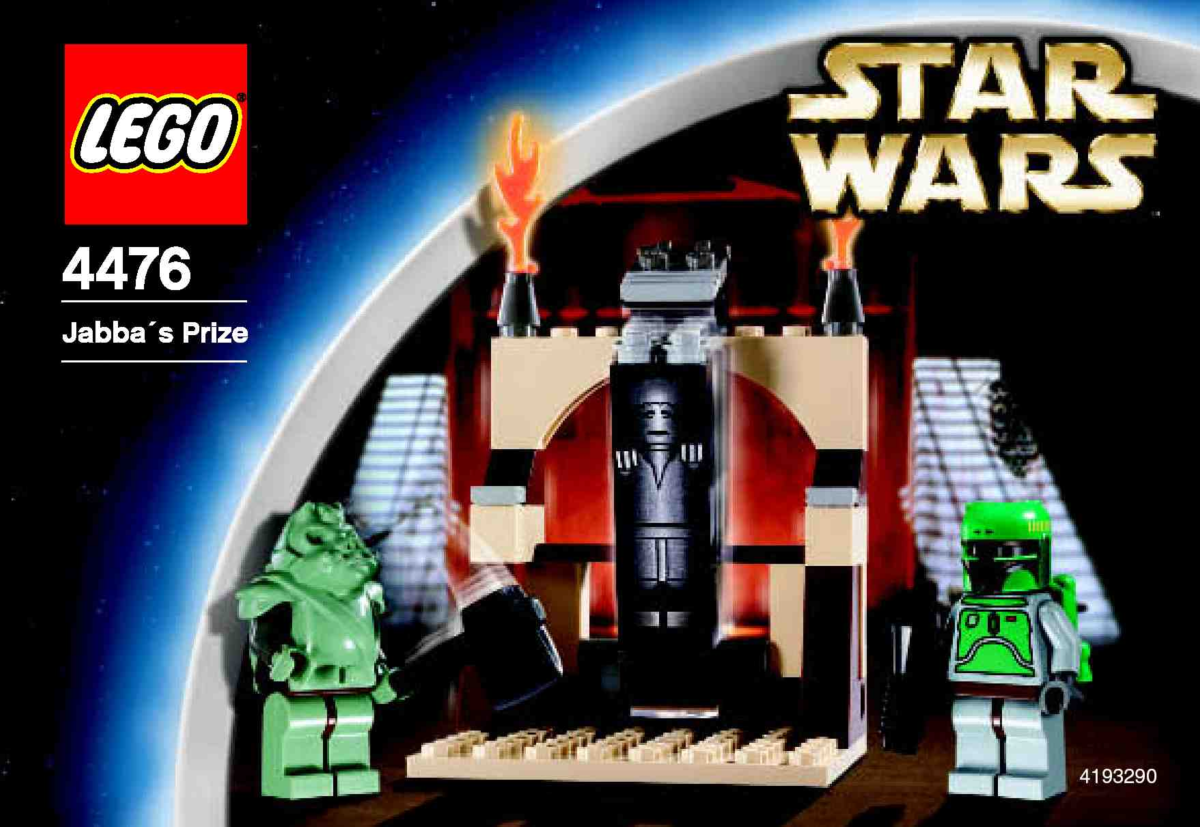 LEGO Star Wars Jabba's Prize 4476 Box