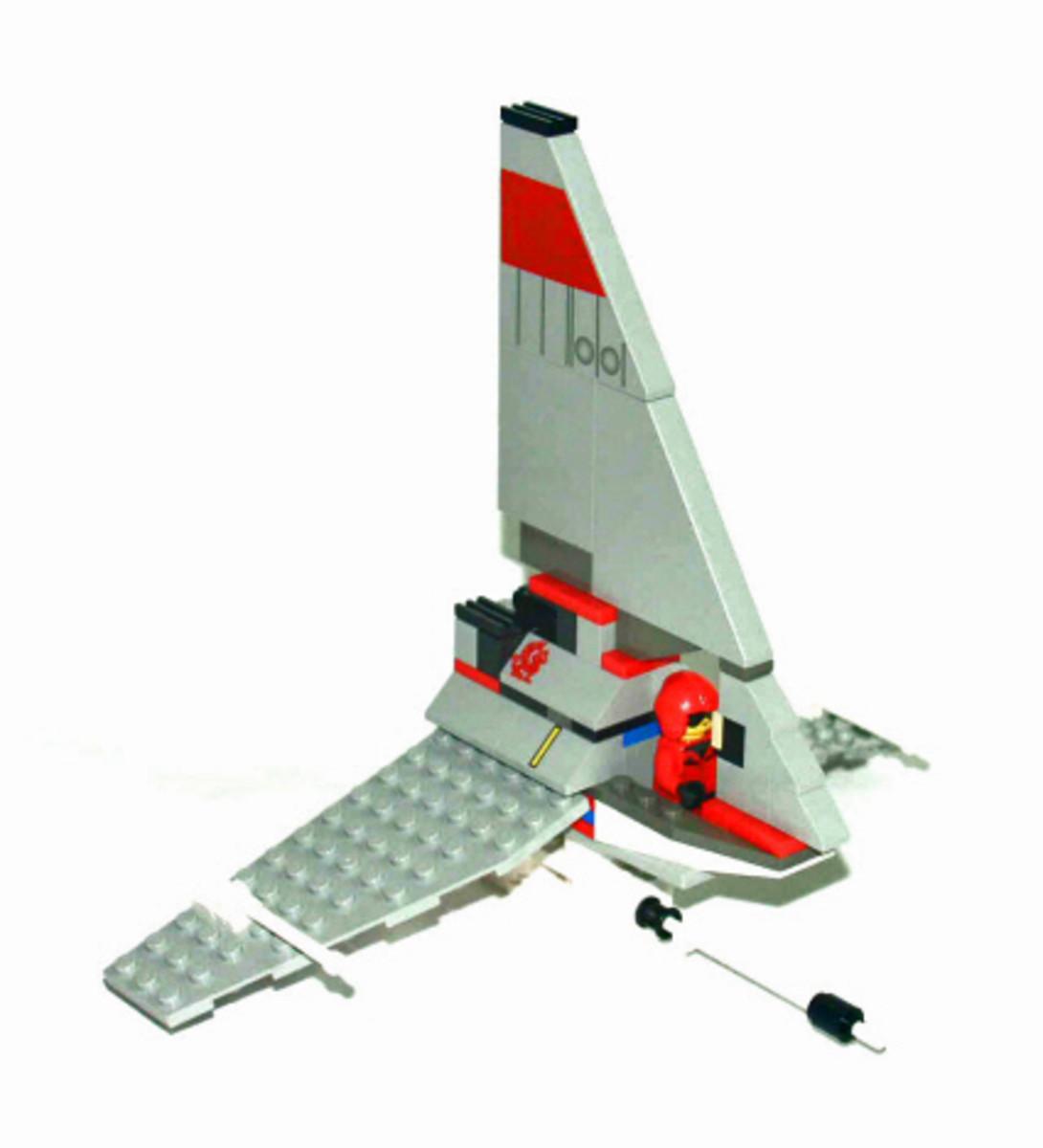 LEGO Star Wars T-16 Skyhopper 4477 Assembled