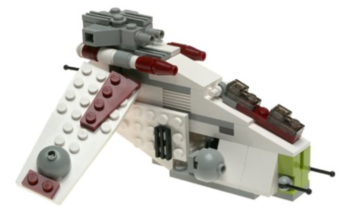 LEGO Star Wars Republic Gunship 4490 Assembled