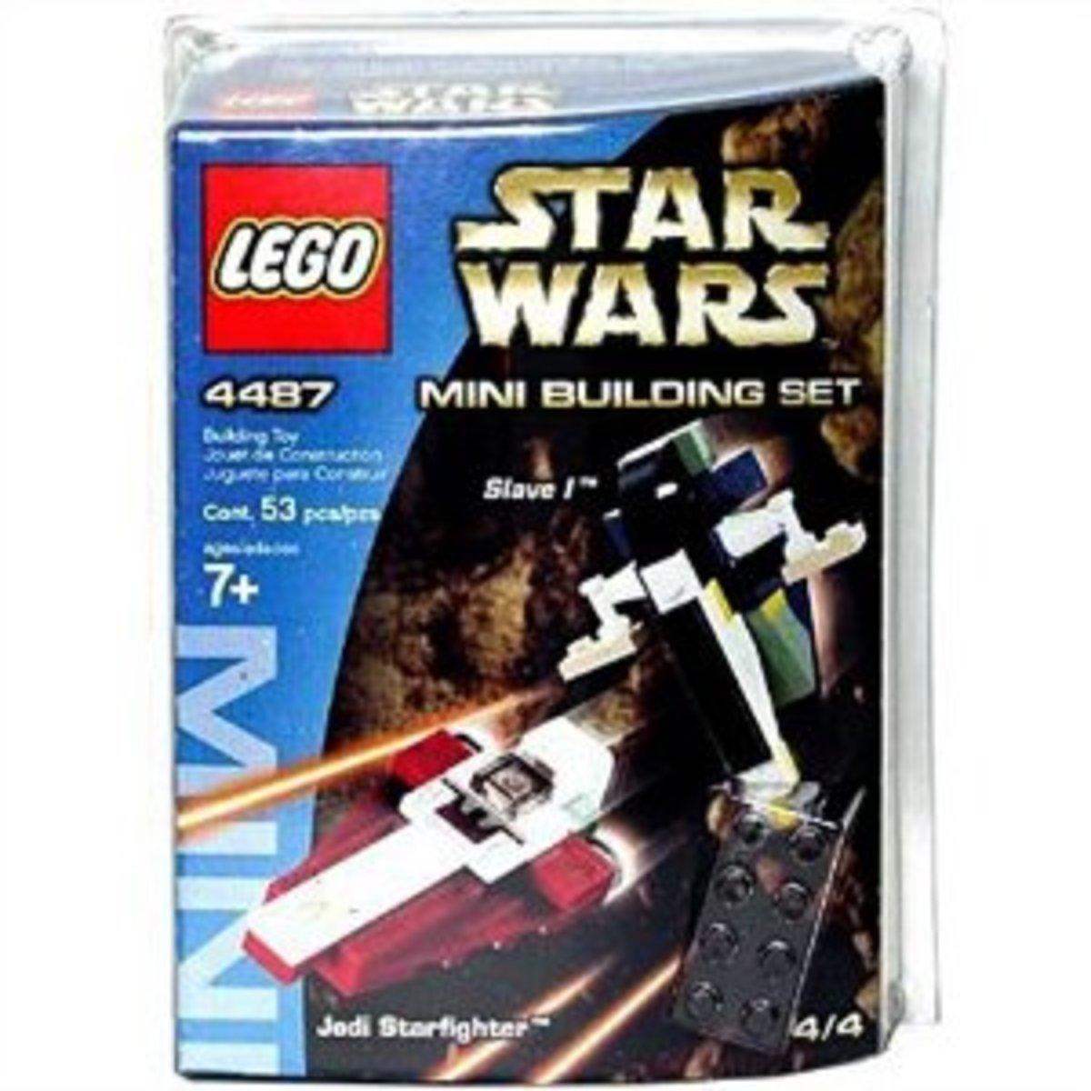 LEGO Star Wars Jedi Starfighter & Slave I 4487 Box