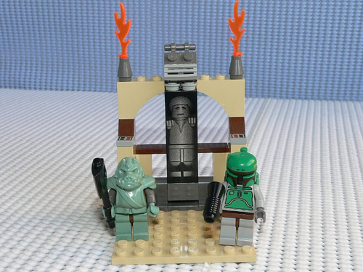 LEGO Star Wars Jabba's Prize 4476 Assembled