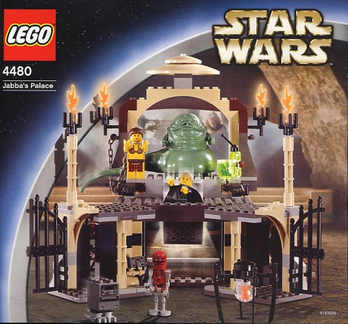 LEGO Star Wars Jabba's Palace 4480 Box