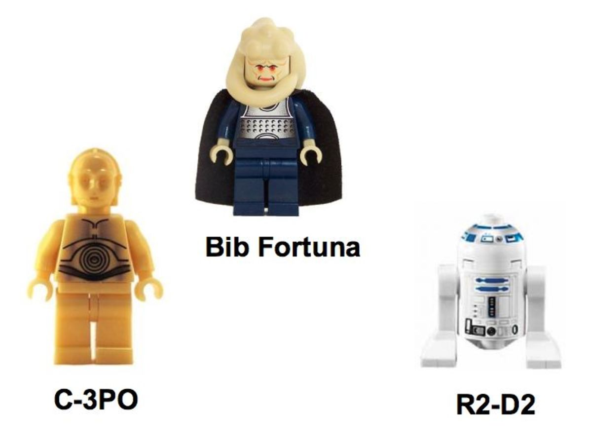 LEGO Star Wars Jabba's Message 4475 Minifigures
