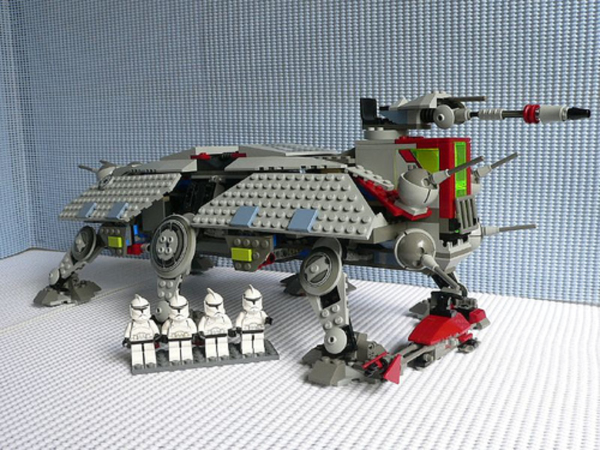 LEGO Star Wars AT-TE 4482 Assembled