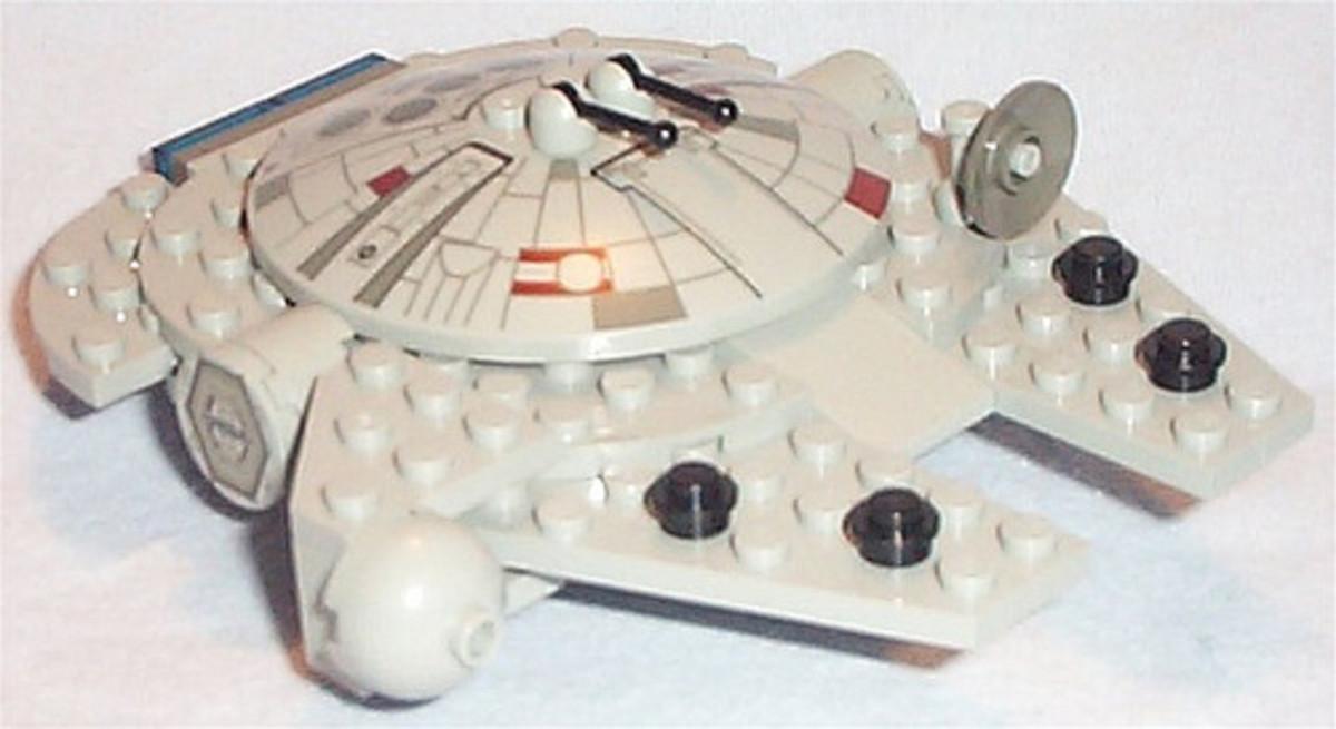 LEGO Star Wars Millennium Falcon 4488 Assembled