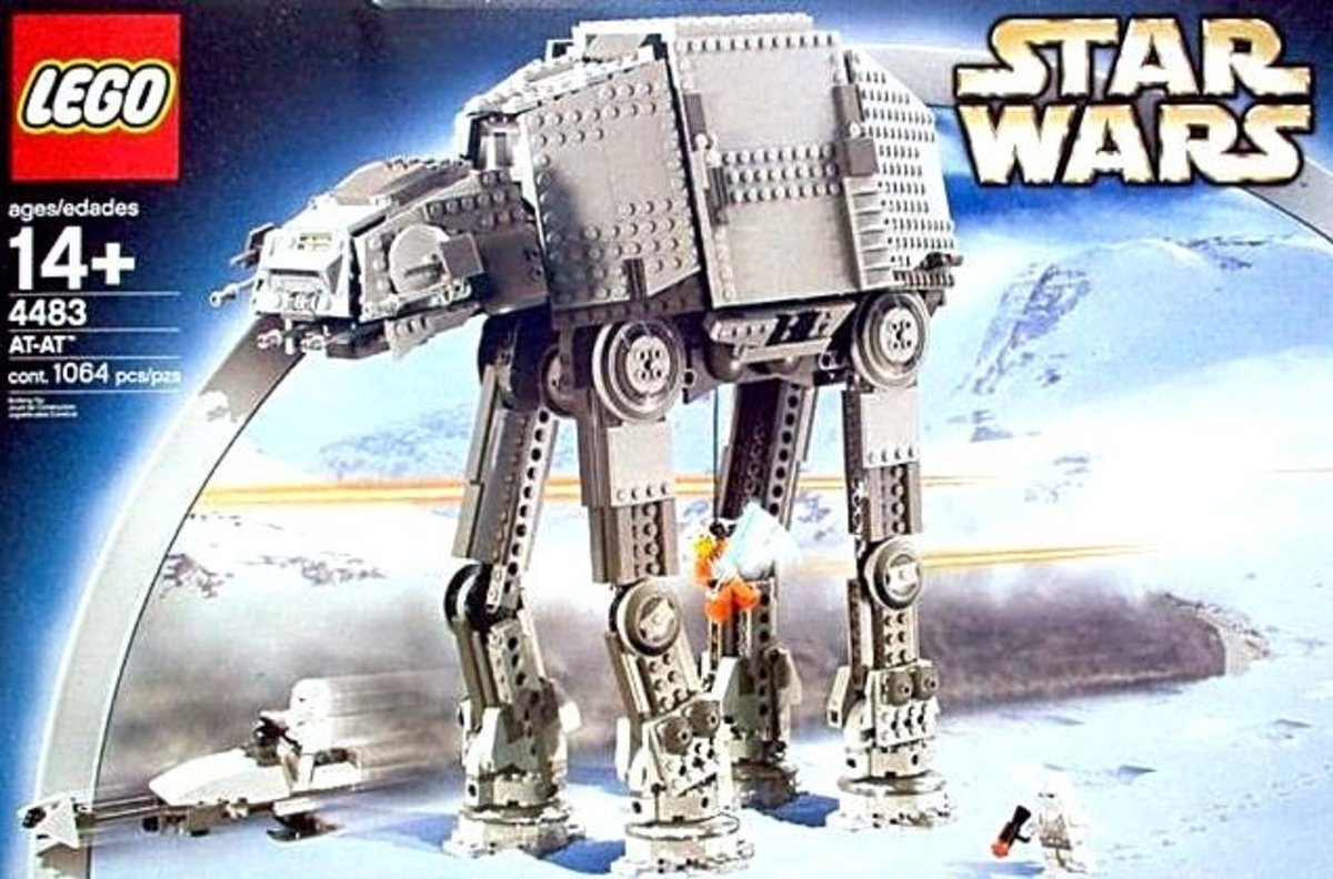 LEGO Star Wars AT-AT 4483 Box