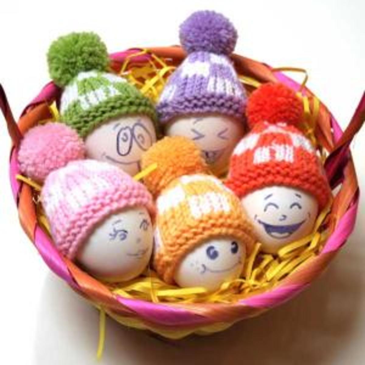 Tiny Egg Hats
