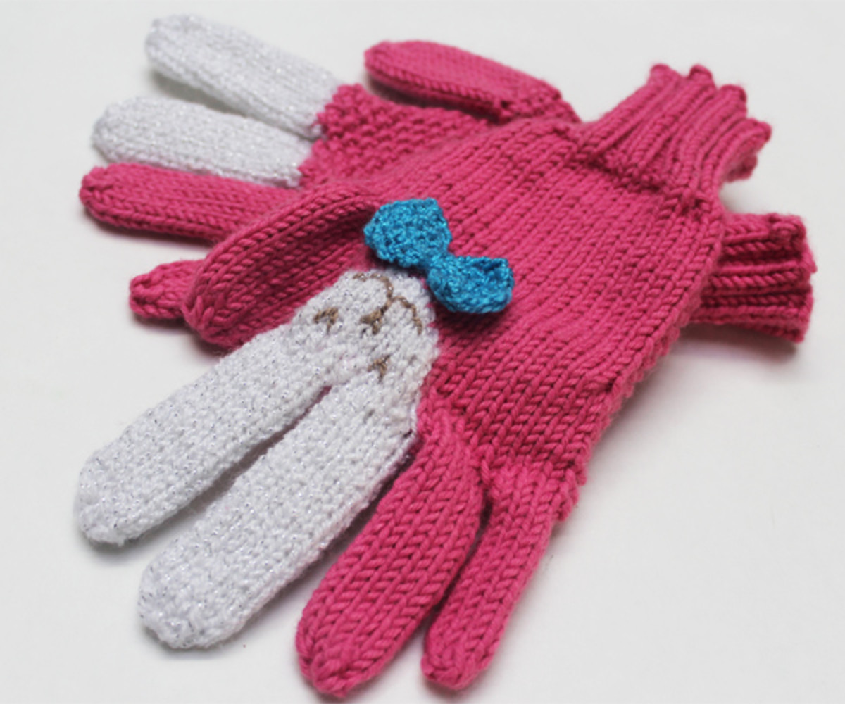 Bunny Gloves