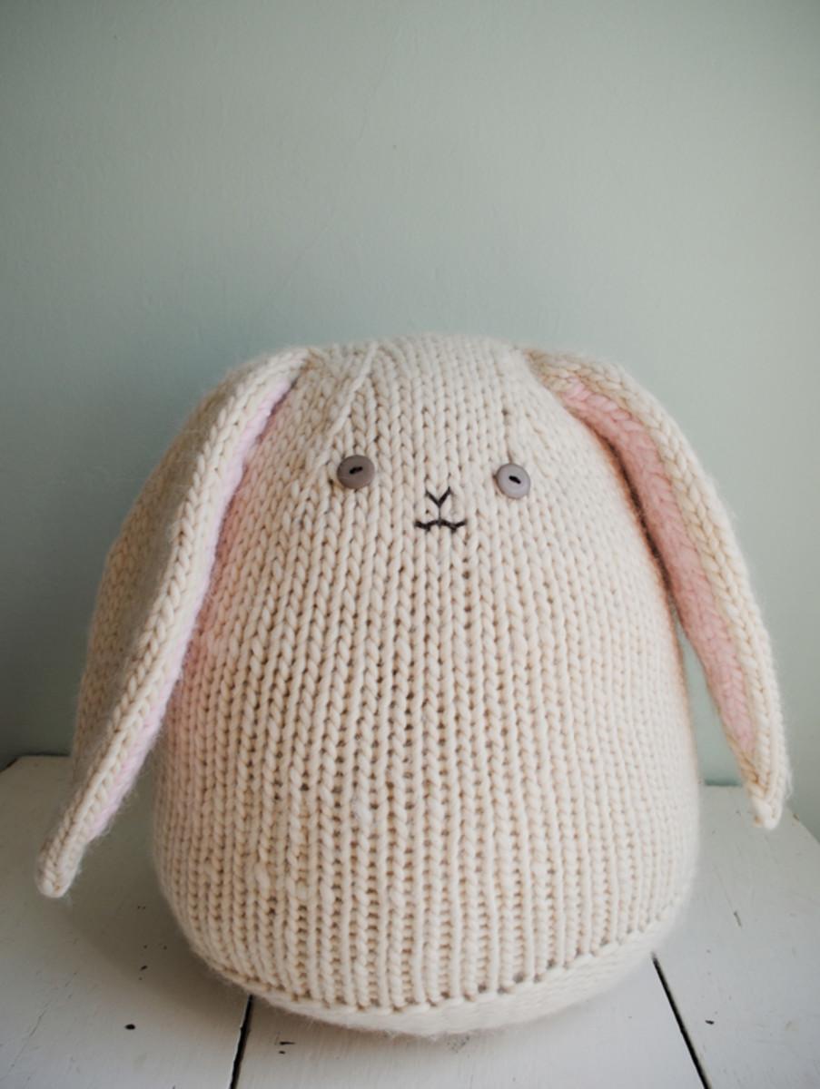 Big Knit Bunny