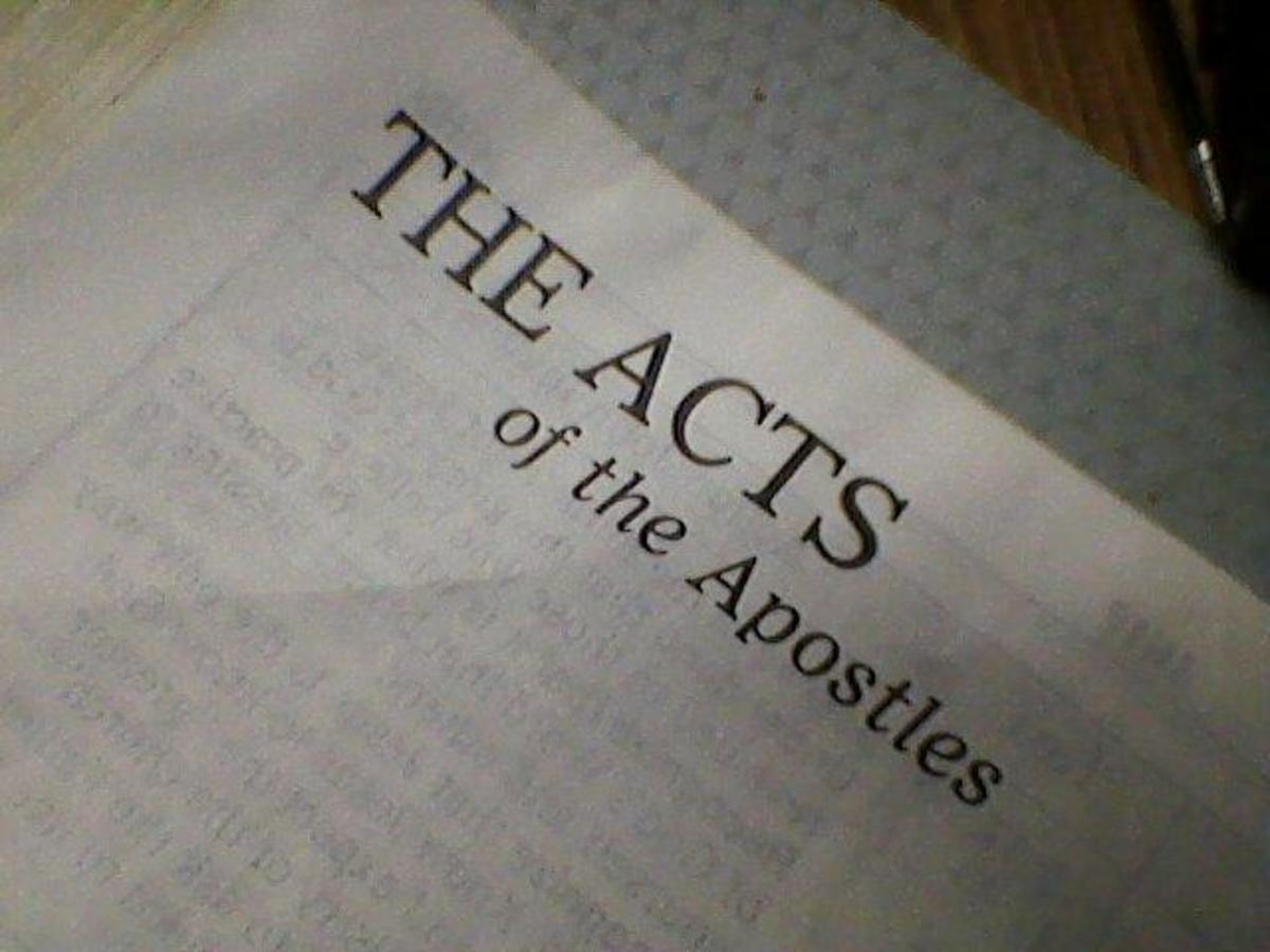 Bible Trivia Quiz: Acts Chapters 1 - 7