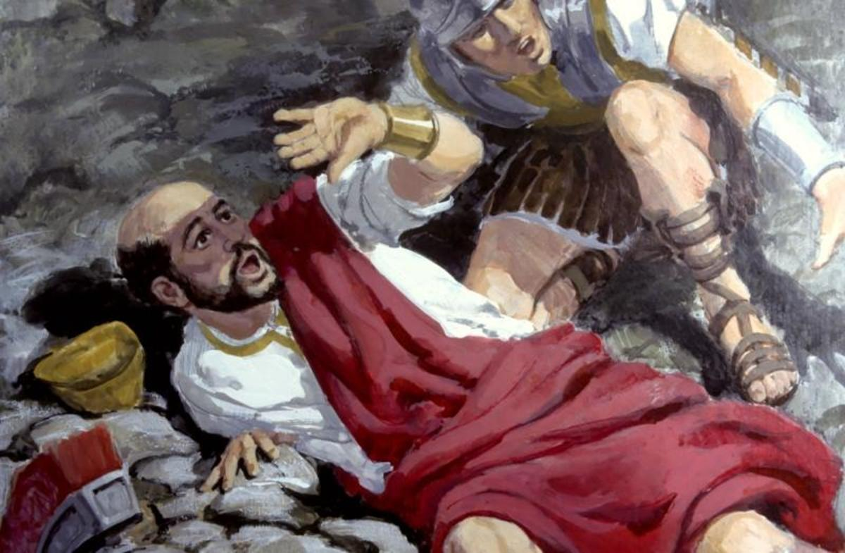 Saul meets Jesus on the road to Damascus where he was planning to persecute more believers. Jesus knocked him off his horse and changed his life forever. Acts 9:1-9
